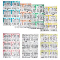 Bingo Books: 6on 7ups - 125 bo