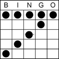 Bingo Game Pattern - Lucky 7