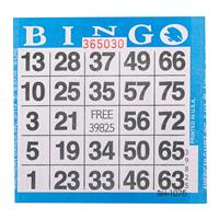 1on Blue Bingo Cards, 500ct