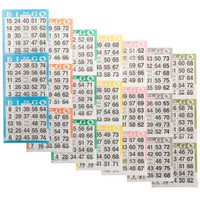 Bingo Books: 3 on 7 ups - 100 ct