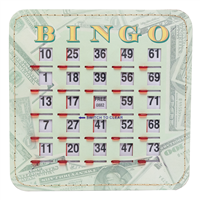 Money Bingo Shutter Card, 10pk
