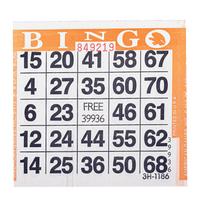 1on Orange Bingo Cards, 500 ct