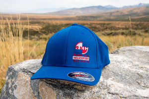 Ruby Mountain Heli-Ski Blue Flexfit Hat