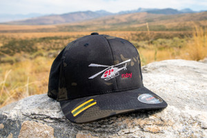 Ruby Mountain Heli-Ski Camp Flexfit Hat