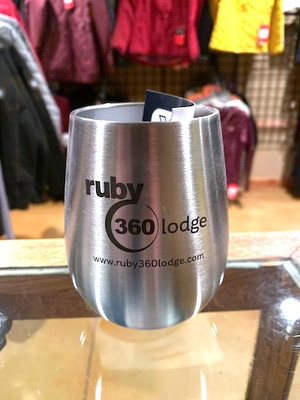 Ruby 360 Lodge 10oz YETI Wine Tumbler