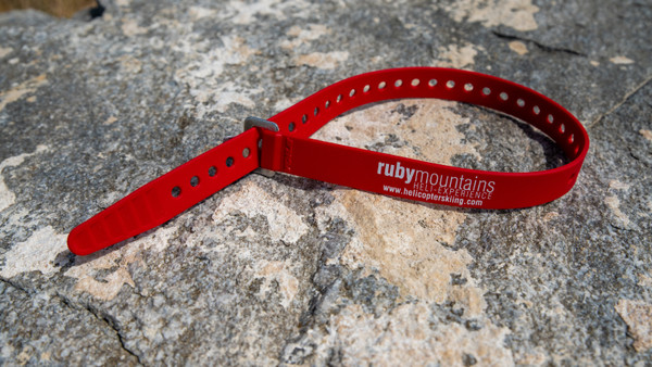Ruby Mountain Heli-Ski ski strap