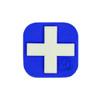 "Medical Cross 1"" x 1"" (Small) - ""Super-Lumen"" Glow-In-The-Dark Patch"