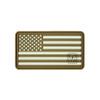 """US Flag (Left Star) - """"Super-Lumen"""" Glow-In-The-Dark Patch"""