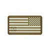 "US Flag Reversed (Right Star) - ""Super-Lumen"" Glow-In-The-Dark Patch"