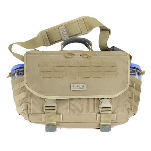 dba9d86f693e Envoy 3.0 - Coyote Tan. Front View with Extended Bottle Pockets