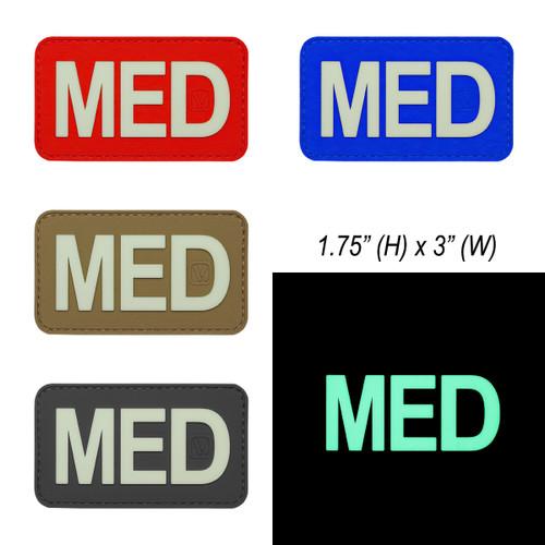 "MED Medical Patch - ""Super-Lumen"" Glow-In-The-Dark Patch"