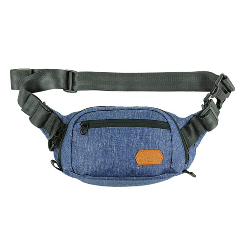 Fanny Pack three Compartment,tough Cordura with YKK zipper Made in USA.