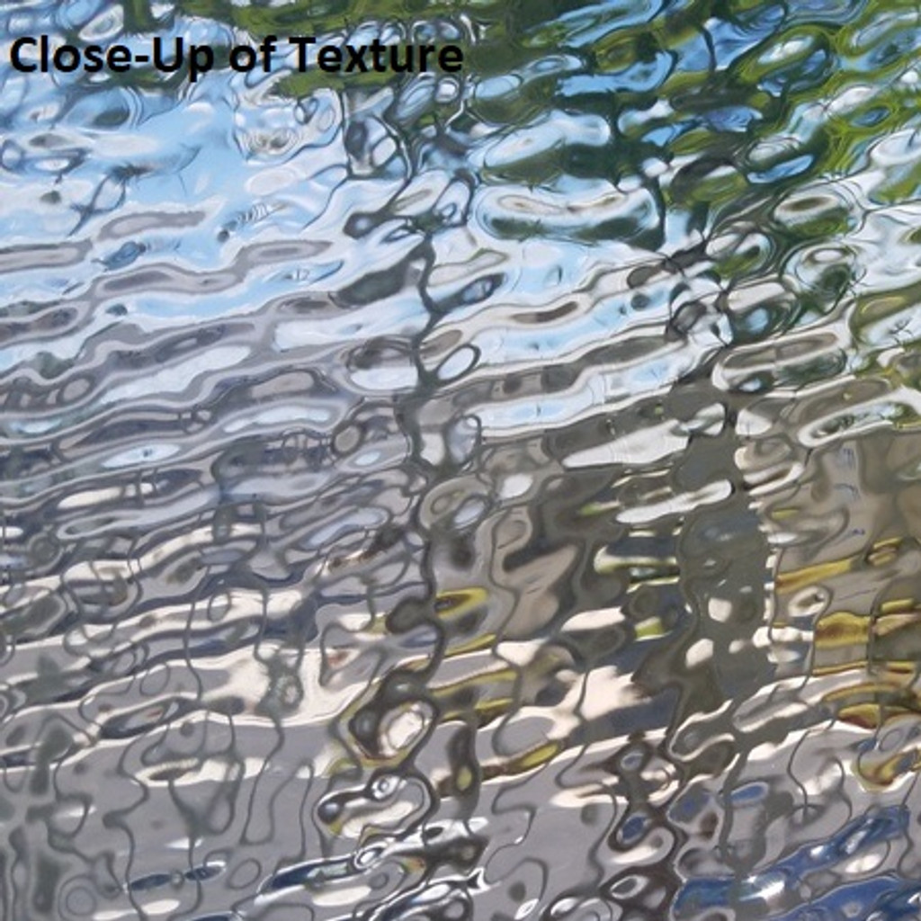 Clear Vintage Textured Glass