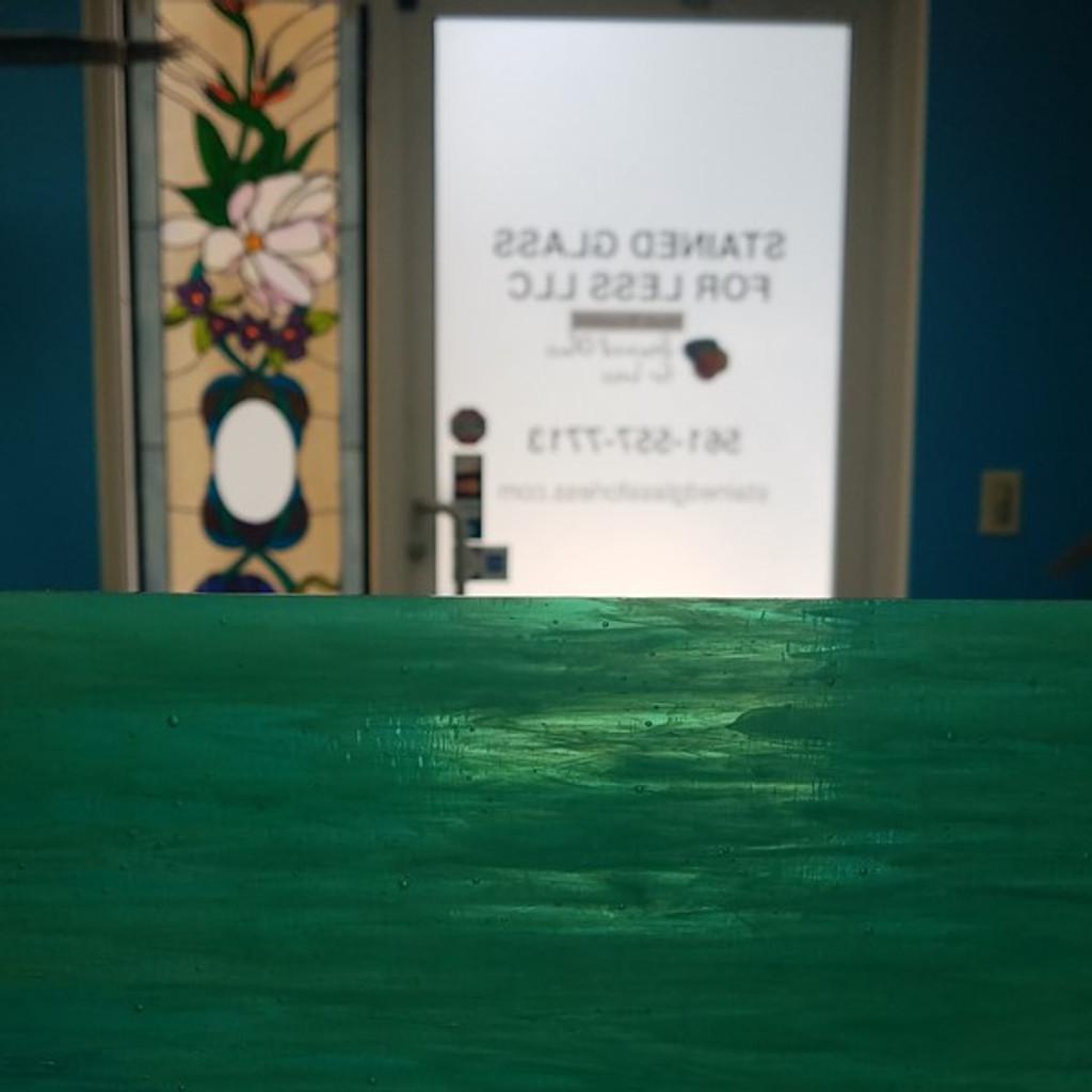 Aqua Green & White Wispy Opal