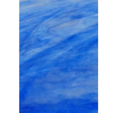 Cobalt Blue & White Wispy Opal