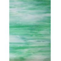 Garden Green, Crystal & White Wispy Opal