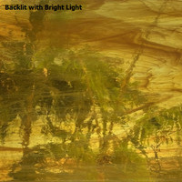 Gold Amber & White Wispy