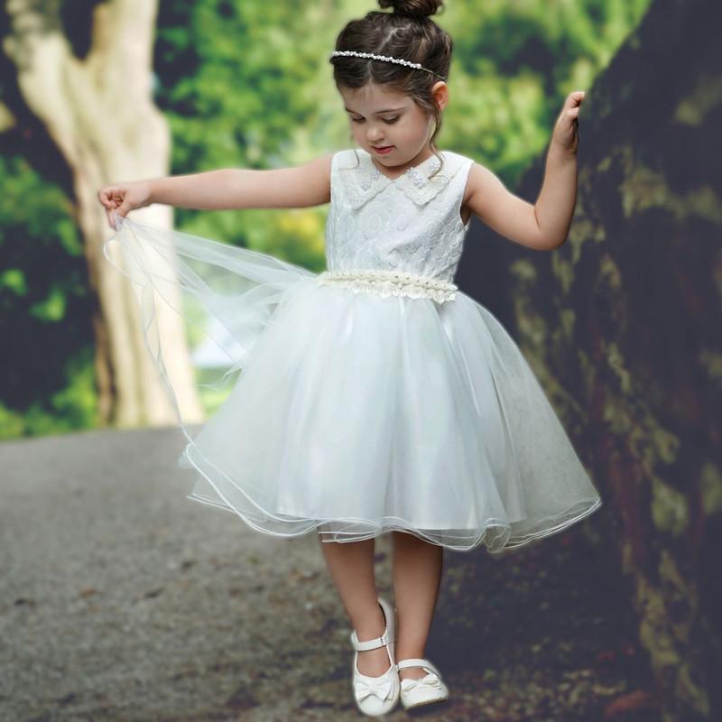 Madelynn Dress - Dove White
