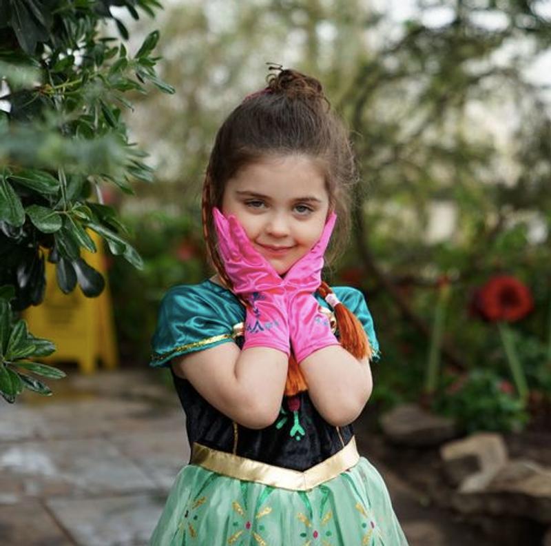 GIRLS Halloween GOOD or BAD Unicorn Costume SATIN Skirt Fancy Dress /& HEADBAND
