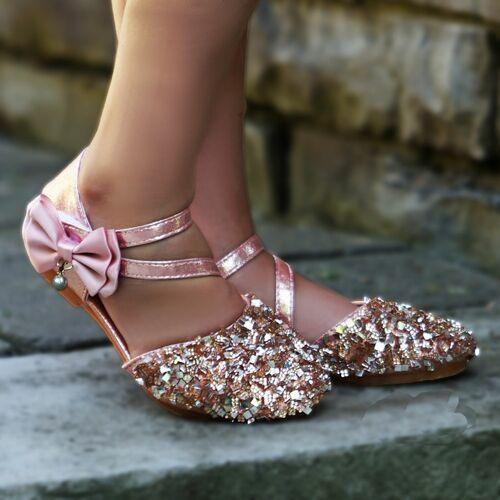 rose-gold slipper shoes