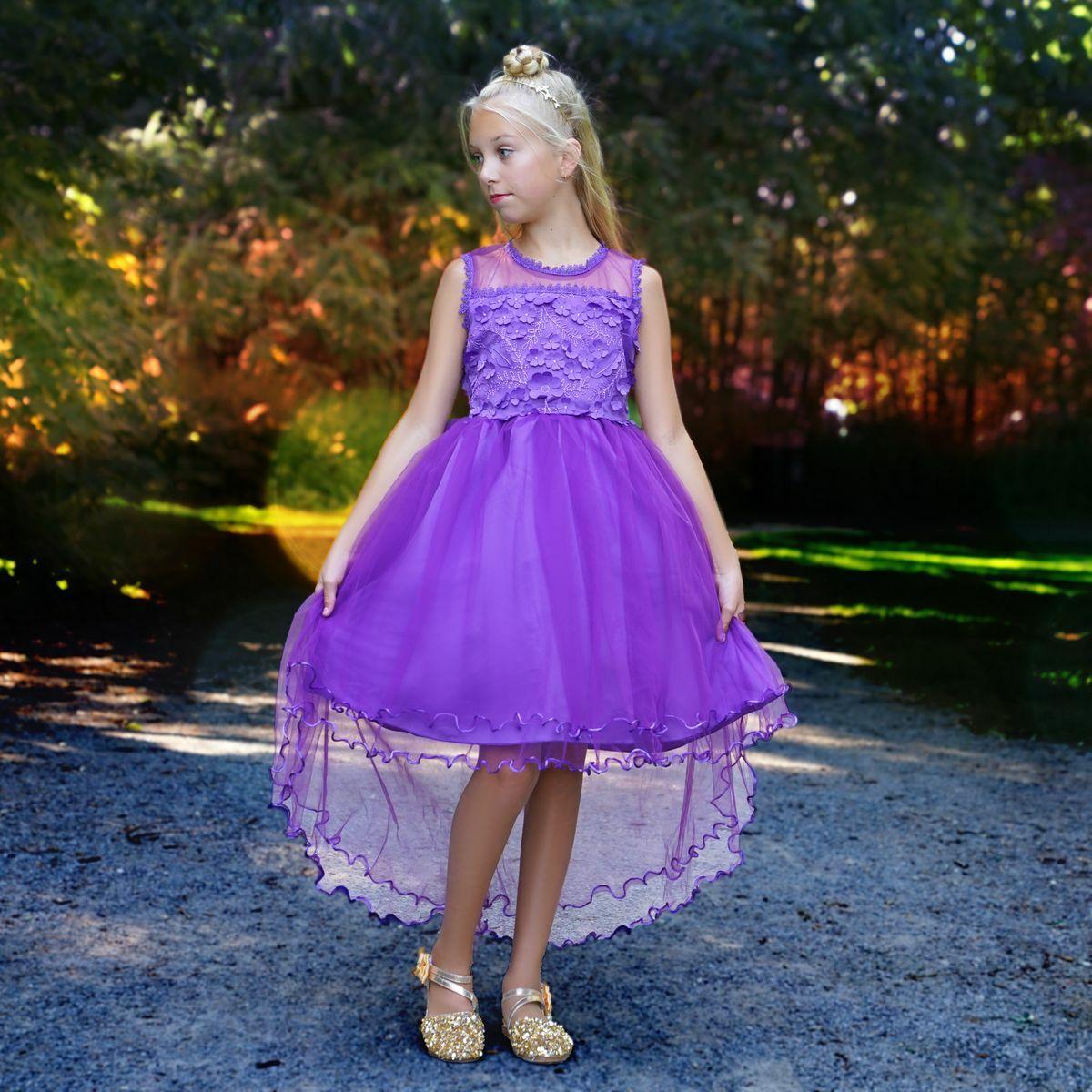 Freya dress in purple