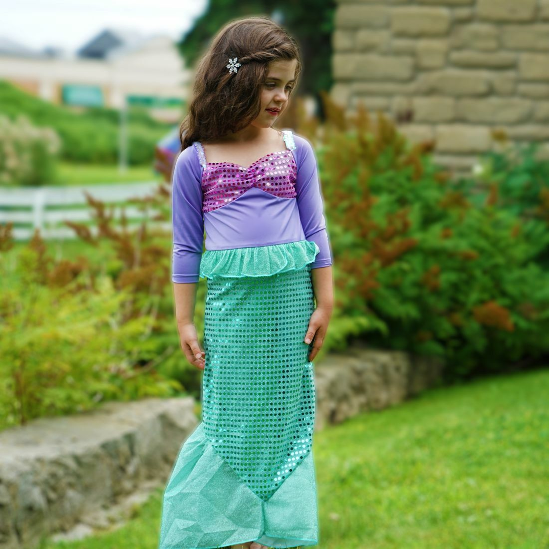 Mermaid Oceanus dress from Sara Dresses