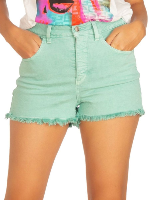 Guess Minty Mist Mom Short