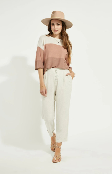 Gentle Fawn Linen Rally Pant