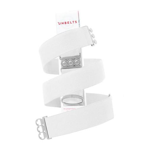 Flatter Me white/silver Belt