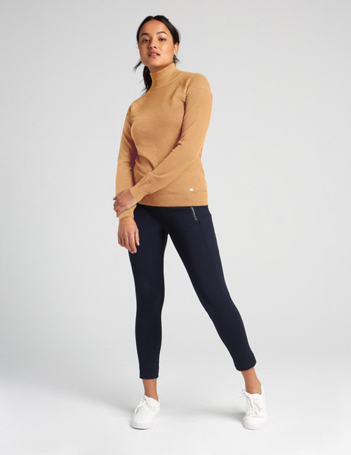 Fig Spiced Honey Bel-Air Sweater