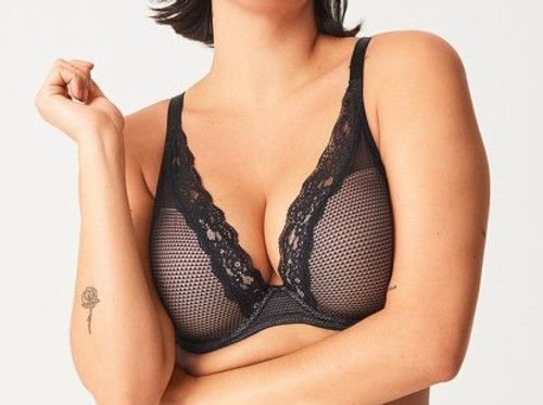 Chantelle Plunge Bra - Black