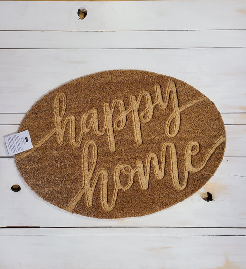 Design Home Happy Home Door Mat