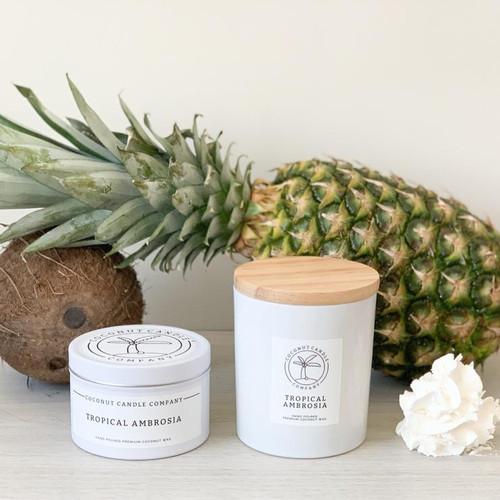 Coconut Candle 8 oz - Tropical Ambrosia