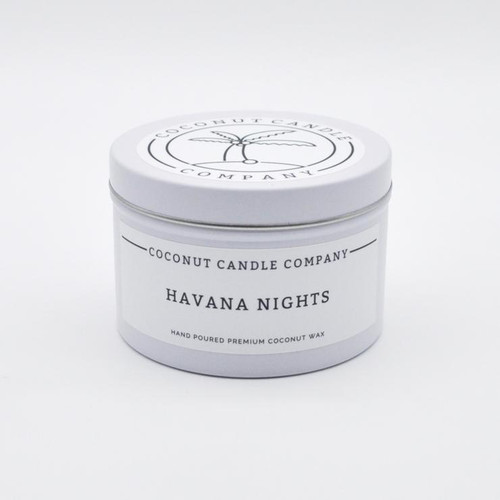 Coconut Candle 8 oz - Havana Nights