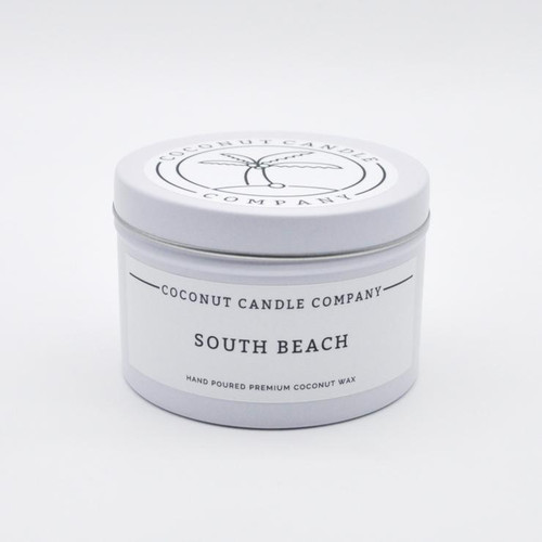 Coconut Candle 8 oz - South Beach