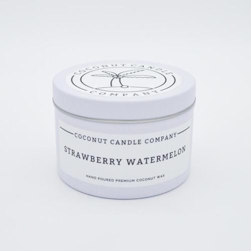 Coconut Candle 8 oz - Strawberry Watermelon