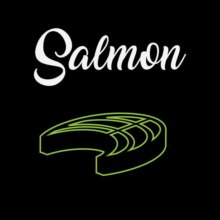 Poached Salmon Filet - 6 Pcs