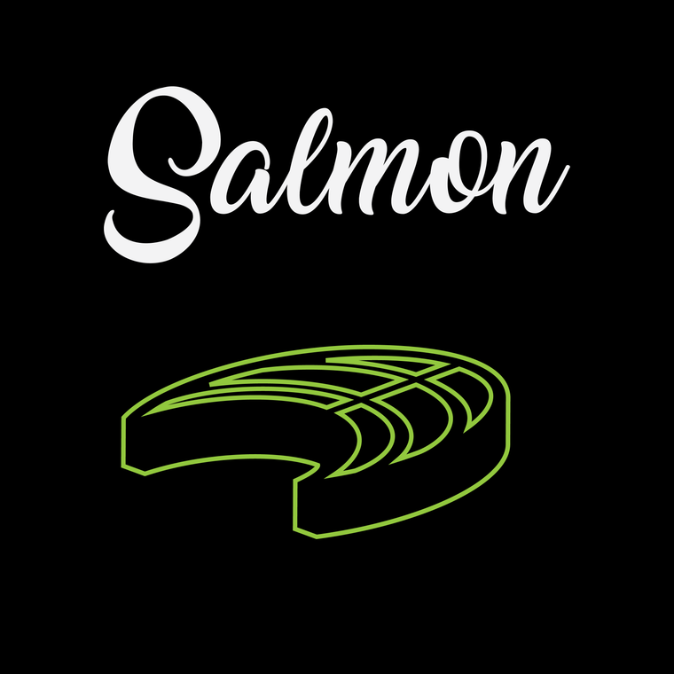 Salmon Teriyaki - 5 Pcs
