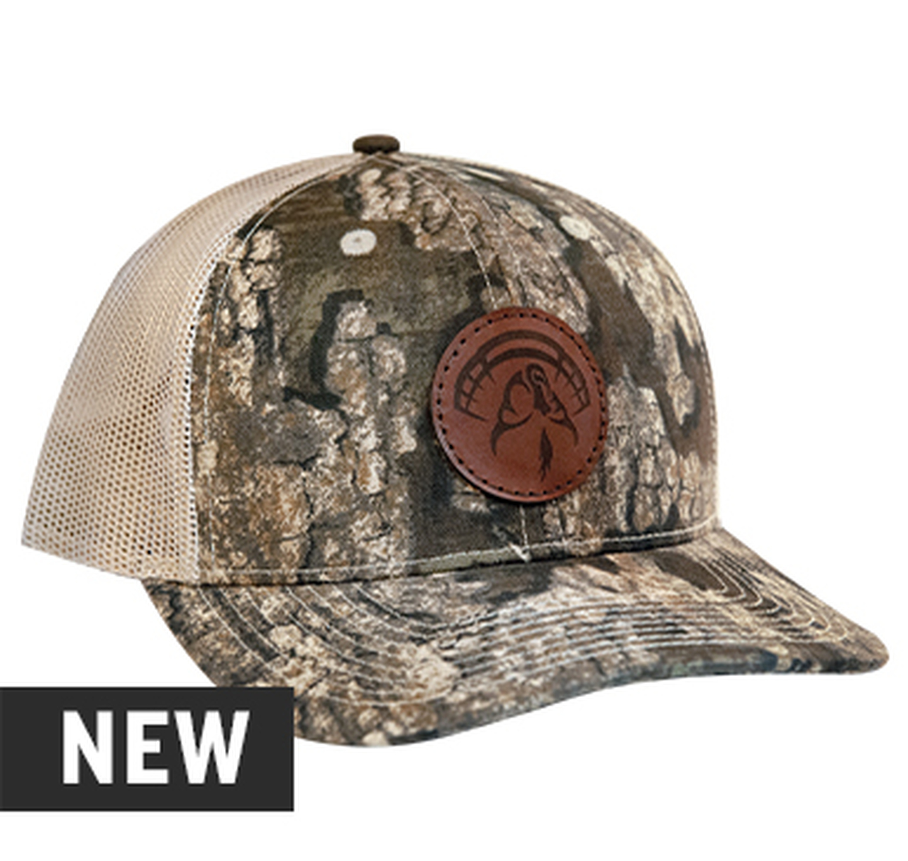 Strut Commander Realtree Timber Leather Patch Hat
