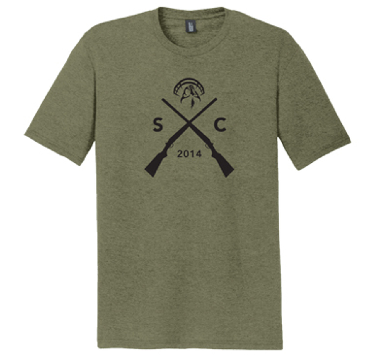 Strut Commander Guns Triblend Tee