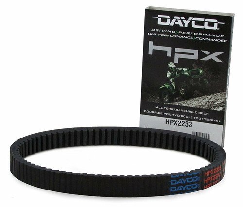 NEW - DAYCO HPX HPX2233 HIGH PERFORMANCE UTV & ATV DRIVE BELT