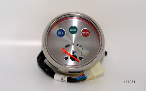 TGB Fuel level gauge, Chrome