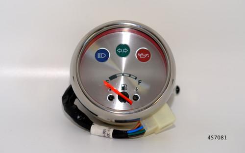 TGB Fuel level gauge, Chrome