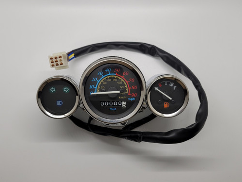 Speedometer Gauge Assy - ZN150T-E Scooters