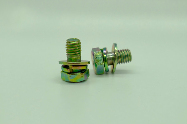Hex Bolt with Washer M8x16 (2 Pcs)