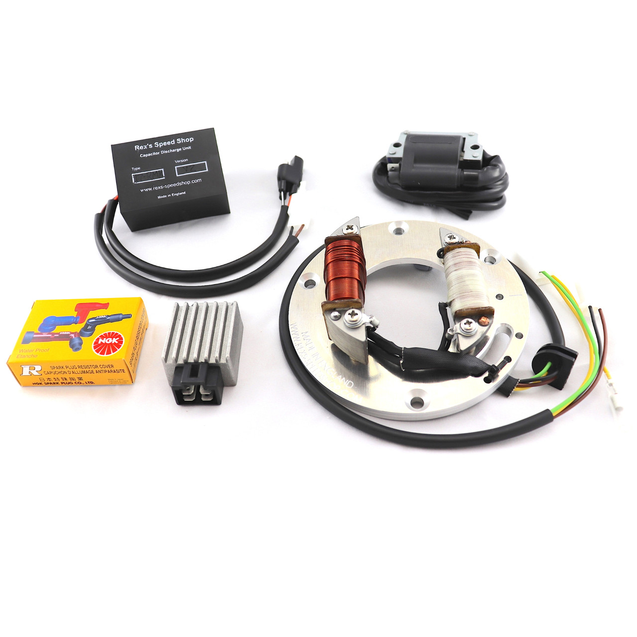 DT400 D/E Electronic Ignition with 12 volt Lighting