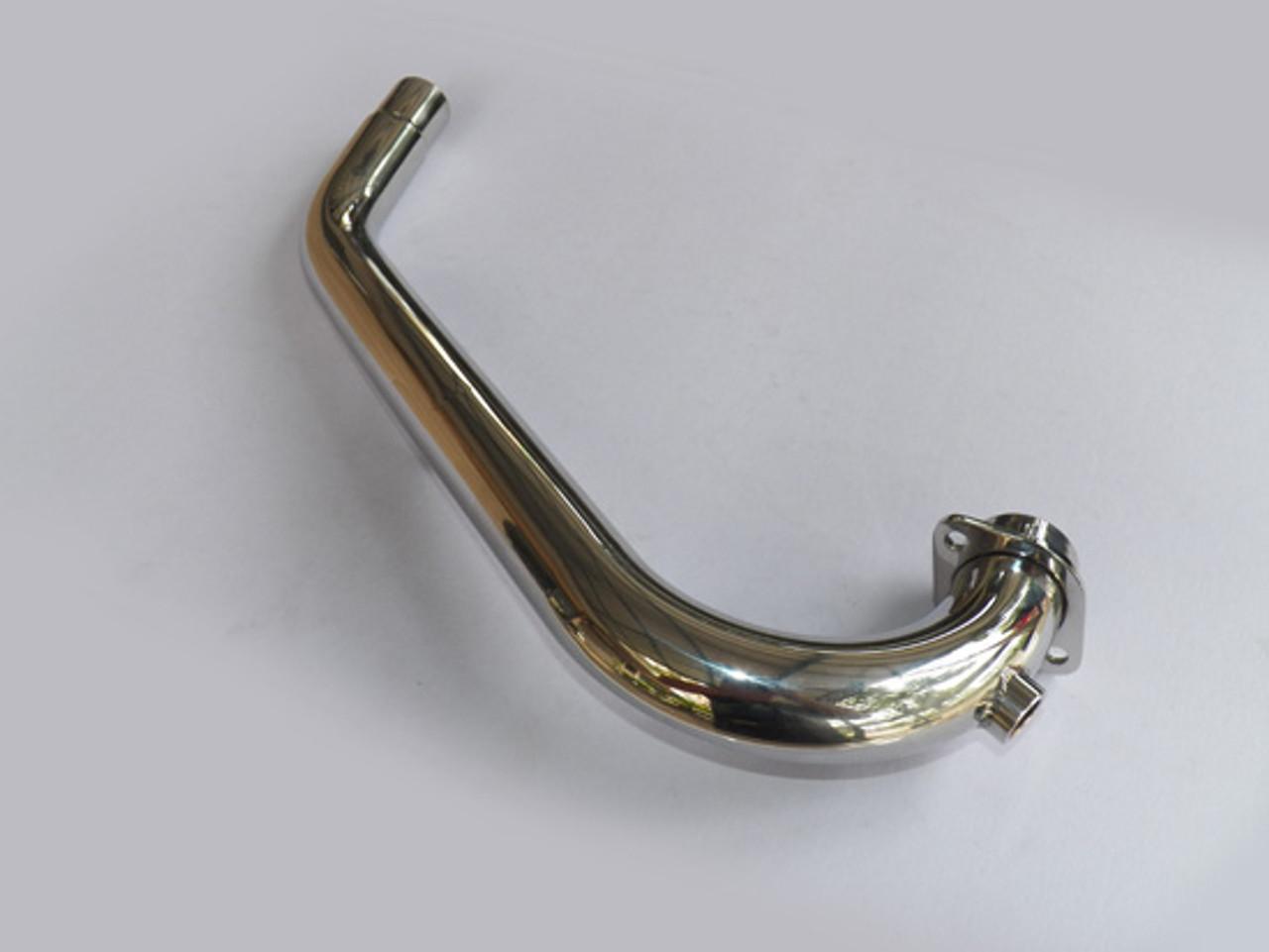 Header Pipe SR400 FI Original Bend Steel Stainless Steel
