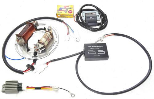 yamaha xt 550 wiring diagram electronic ignition xt500 tt500  full race   with 12 volt  electronic ignition xt500 tt500  full