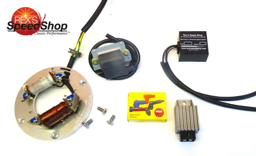 DT250 Twin Shock Electronic Ignition Kit With 12 Volt