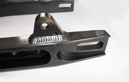 Swing arm CNC 6061 Alloy - Triumph Truxton 900 , T100 Black anodised